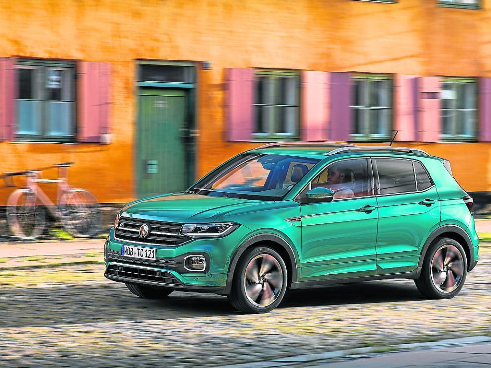 El nuevo SUV pequeño del fabricante alemán, el Volkswagen T-Cross.