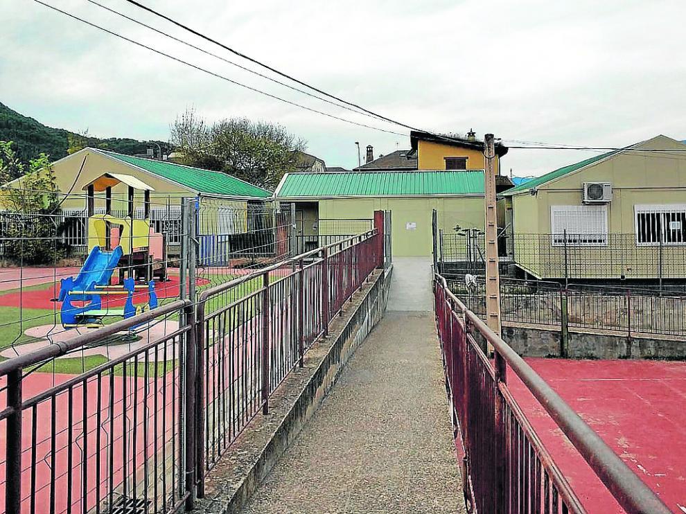 El colegio cuenta este curso con cinco barrancones para atender el incremento de alumnos.