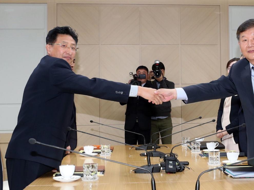 Reunión de los ministros de Cultura y Deporte de las dos Coreas.
