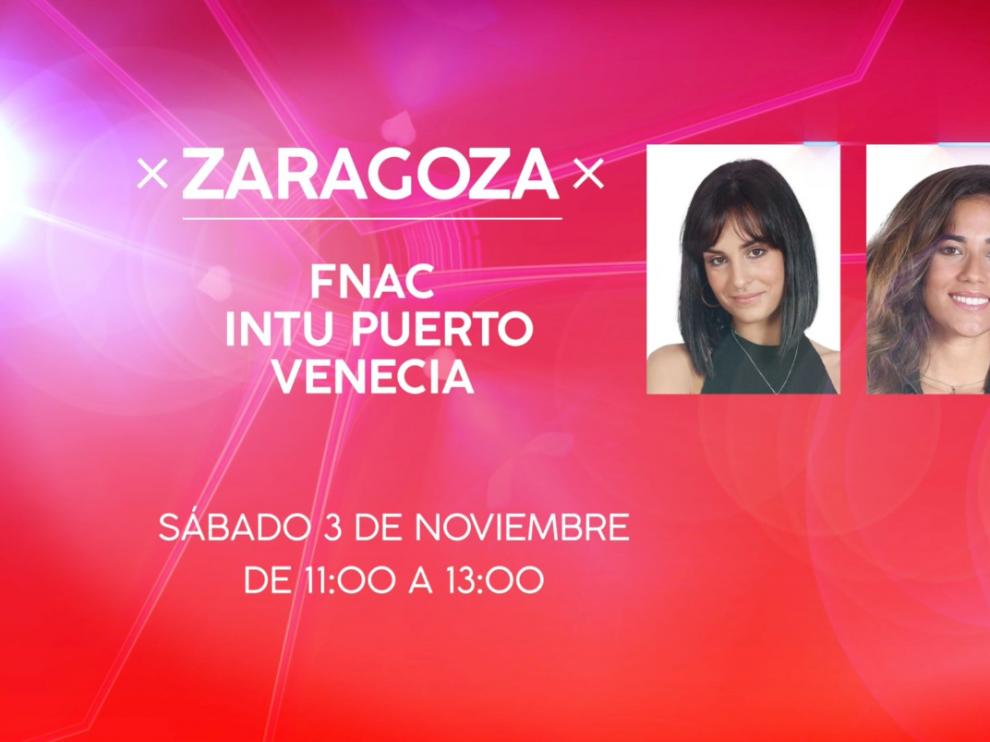 Información sobre la firma de discos en Zaragoza.