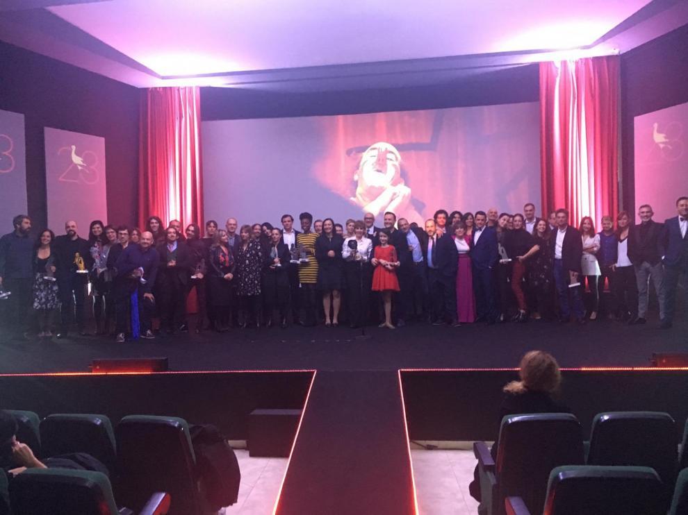 Clausura del Festival de Cine de Fuentes
