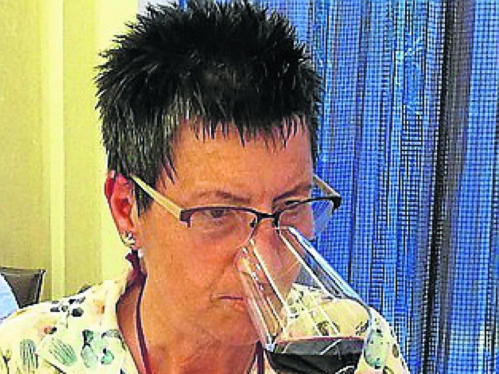 Eugenia Blanco, fundadora del Club Diviñas, que cumple ahora un año.