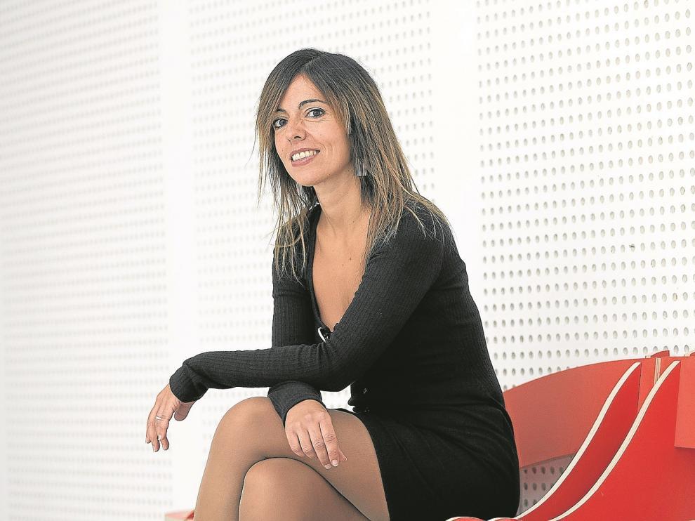 Elena Sanz, en Etopia, donde participó en las Jornadas D+i.