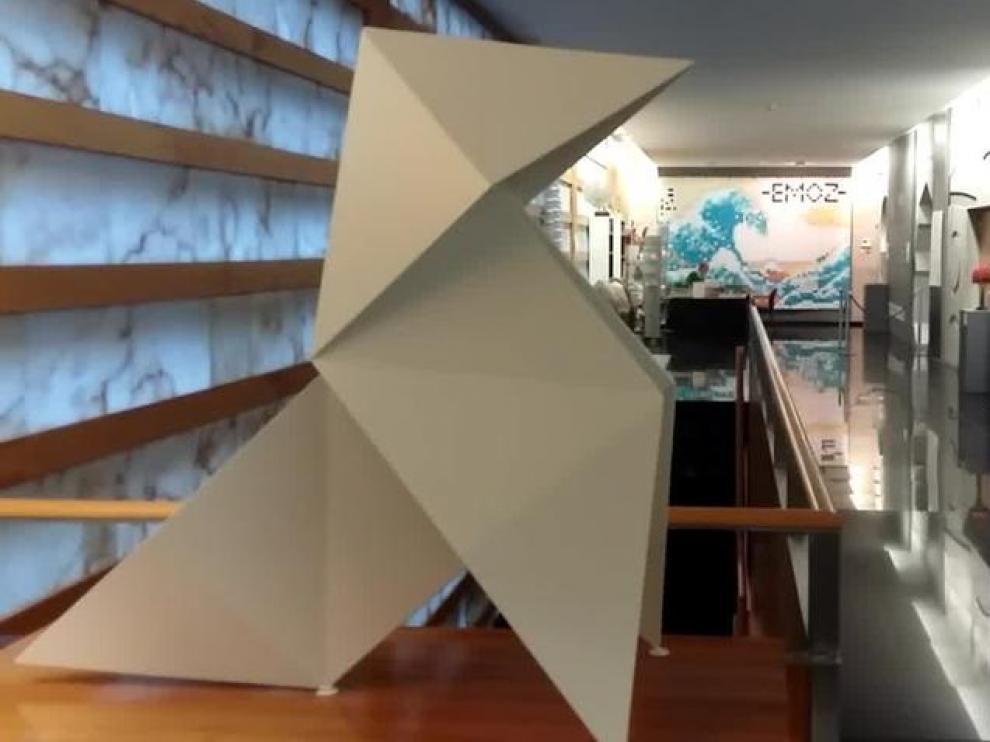 El Museo de Origami de Zaragoza.