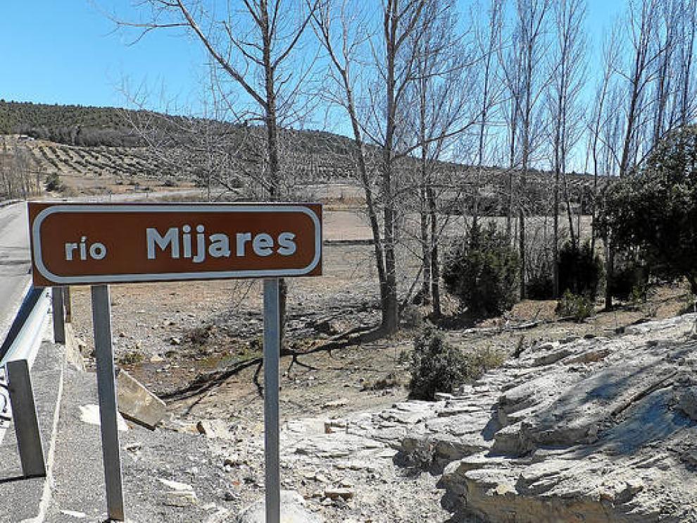 El río Mijares, a su paso por la comarca de Gúdar-Javalambre.