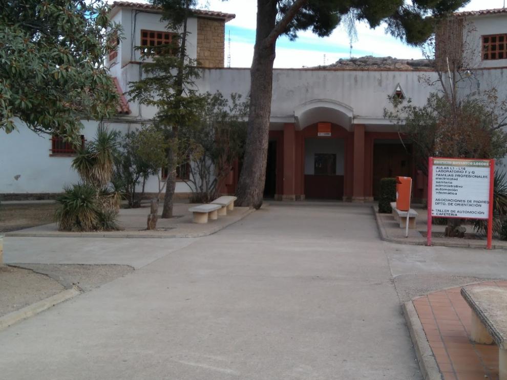 Las clases comenzarán a impartirse en el CPIFP Bajo Aragón de Alcañiz dentro de dos semanas.
