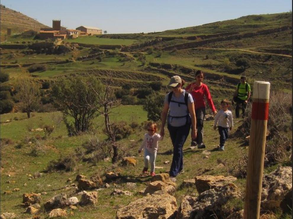 La Comarca del Maestrazgo, en Teruel, ofrece numerosas rutas para realizar con niños.