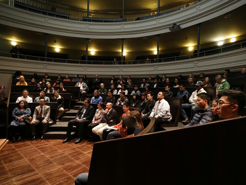 La charla tendrá lugar en el edificio Paraninfo de la Universidad de Zaragoza.