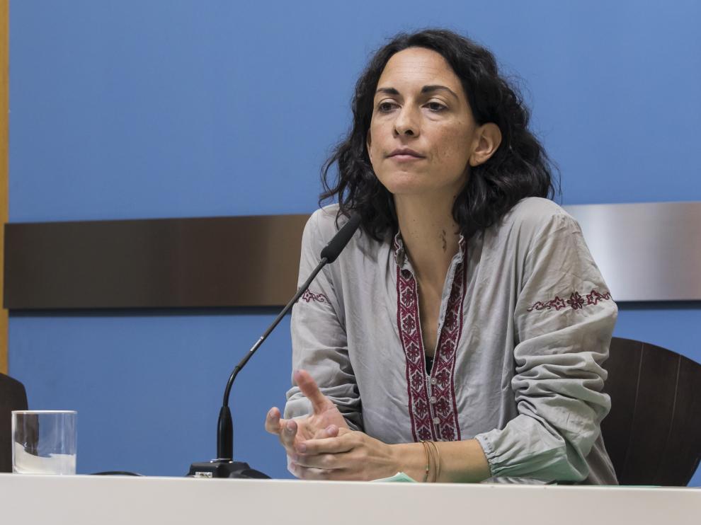 La consejera de Participación, Transparencia y Gobierno Abierto, Elena Giner,