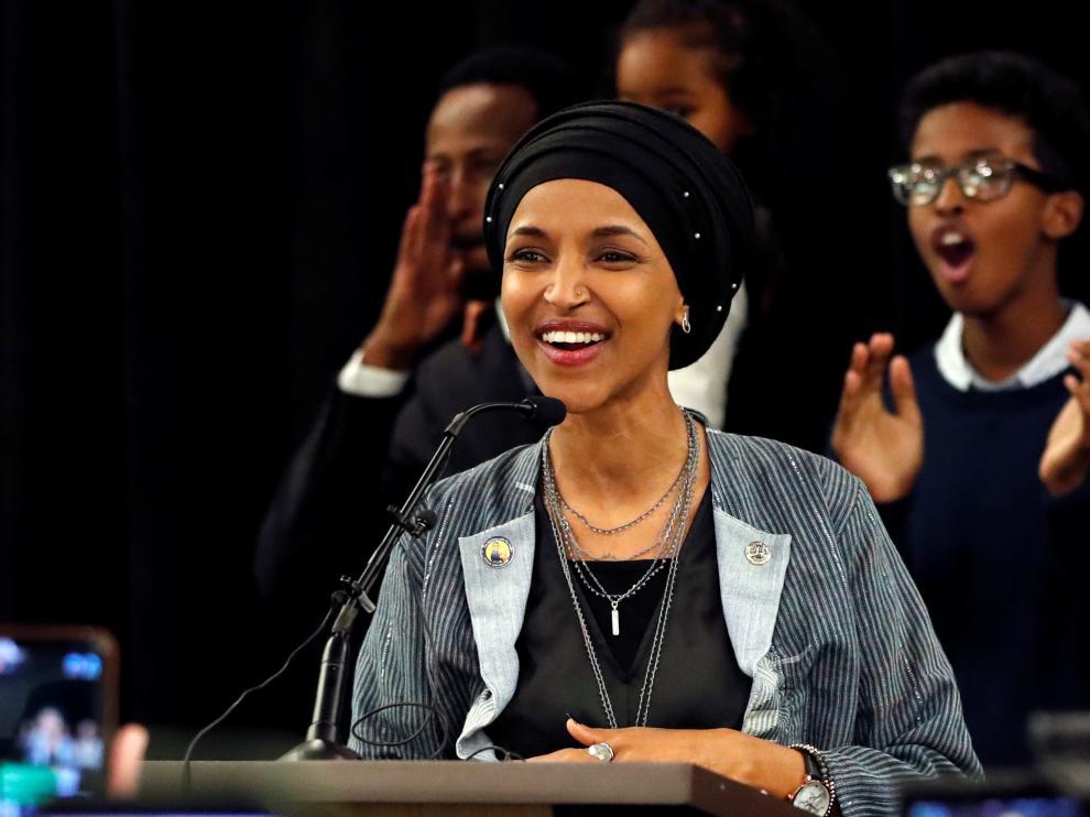 Ilhan Omar se convertirá en la primera mujer musulmana y somalí en el Congreso estadounidense.
