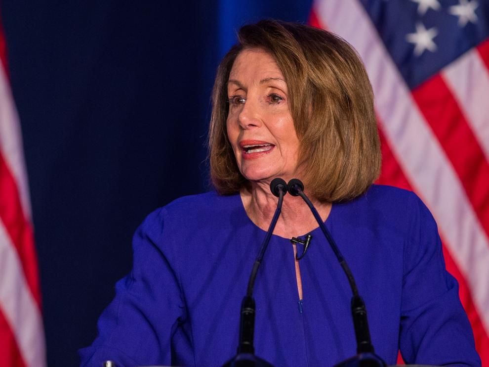 La congresista demócrata por California, Nancy Pelosi.
