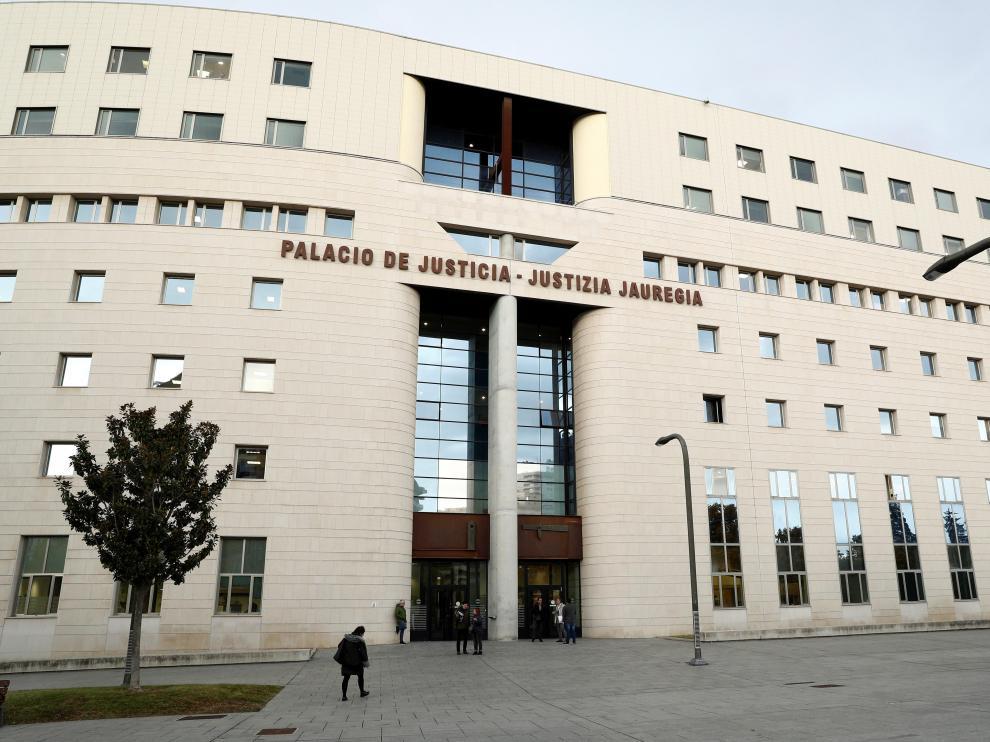 Palacio de la Justicia de Navarra.
