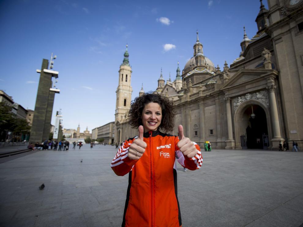 Alicia Pérez recibirá el premio a la mejor atleta aragonesa del año.