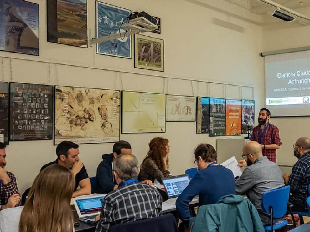 Reunión sobre ciencia y ciudadana y astronomía en Cuenca