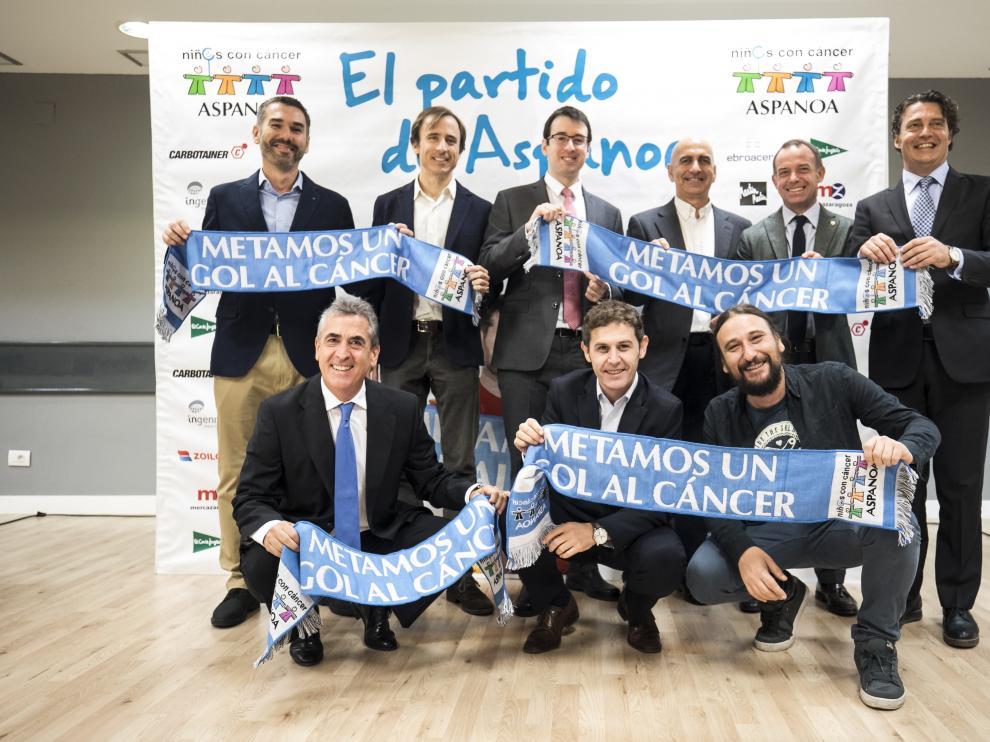 Presentación del partido de Aspanoa.