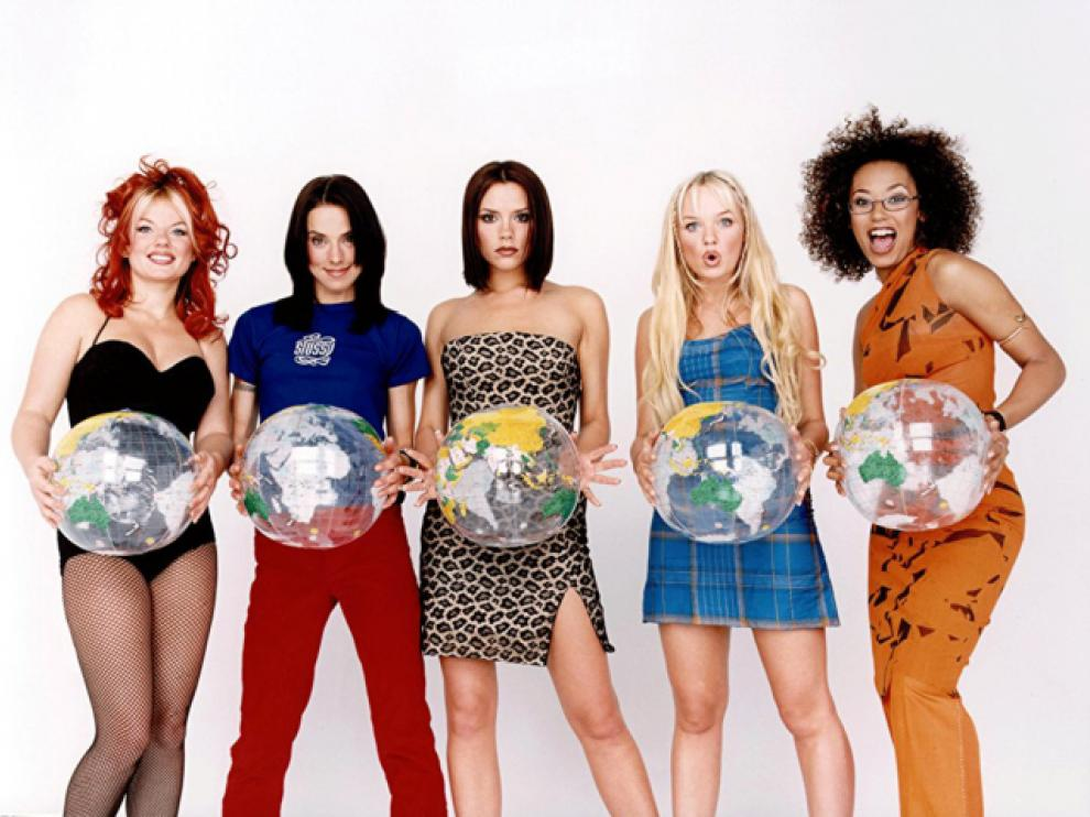 Las cinco integrantes del grupo Spice Girls