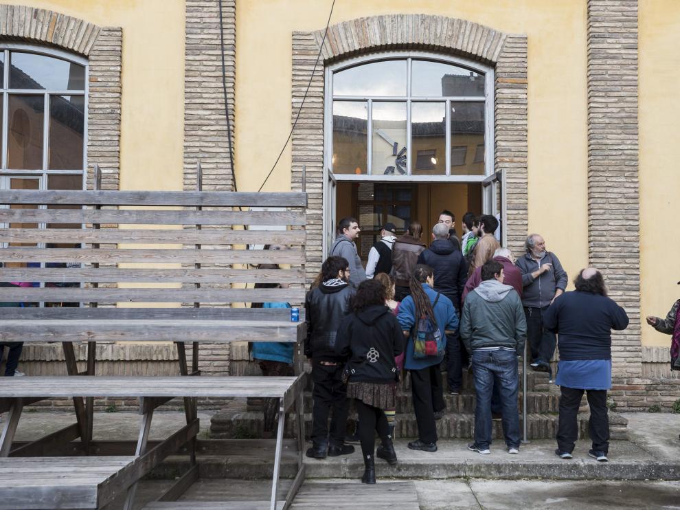 Un acto celebrado en el centro social luis Buñuel.