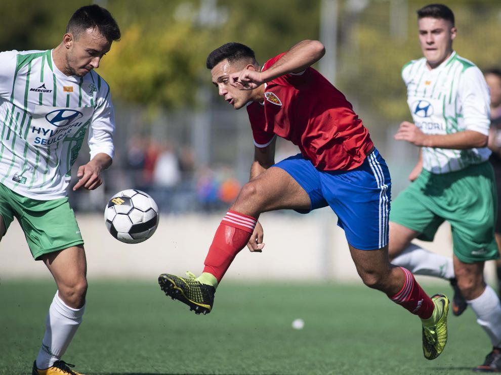 El Real Zaragoza logró la victoria en el derbi ante El Olivar