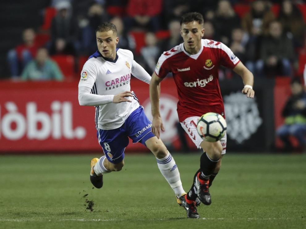 Nástic de Tarragona-Real Zaragoza, temporada 2017-2018.