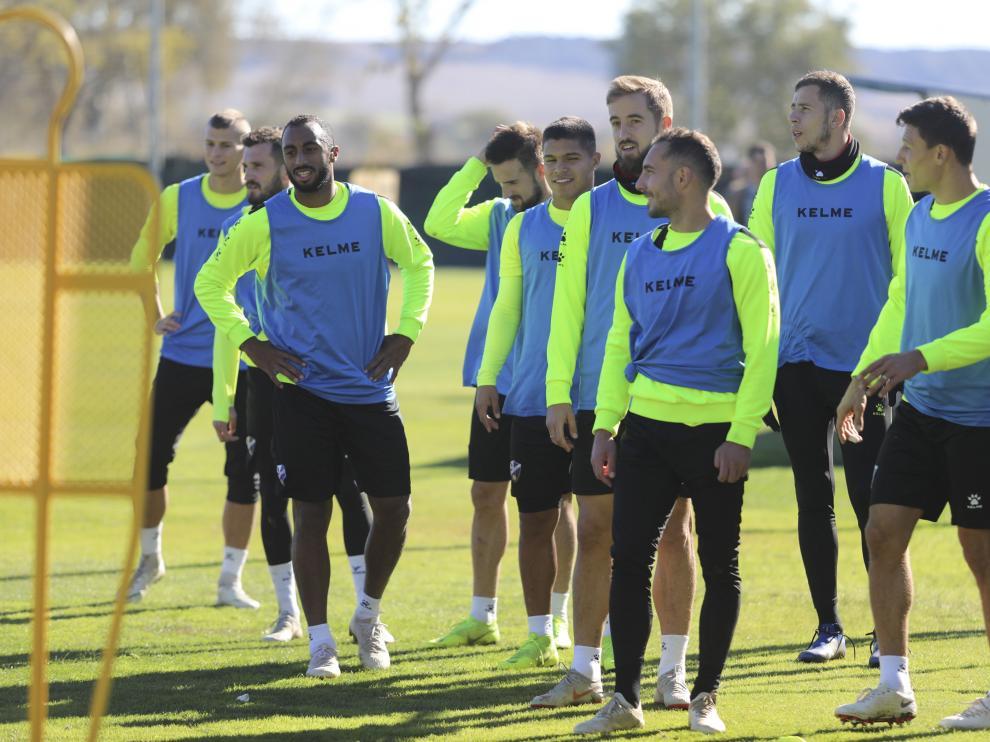 Los futbolistas azulgranas esperan que el partido de Vitoria sea un punto de inflexión.