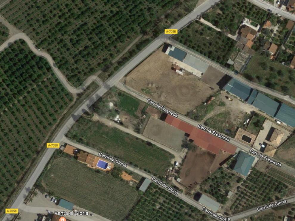 El incendio se ha producido en una vivienda de la carretera de La Fresneda en Málaga.