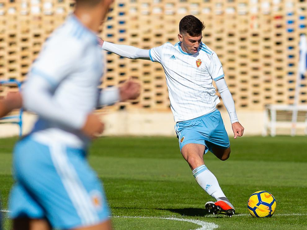 Fútbol. DH Juvenil- Real Zaragoza vs. Manacor.