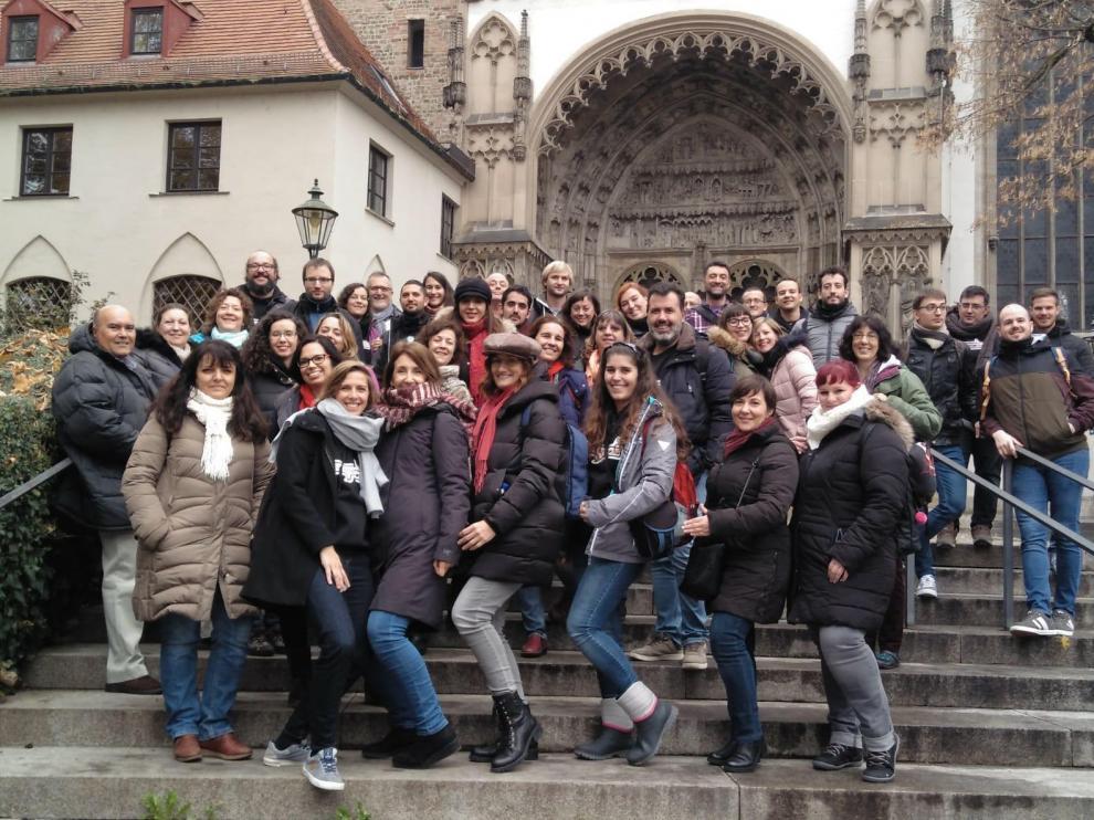 El coro zaragozano 'Enarmonía' viaja hasta Augsburgo