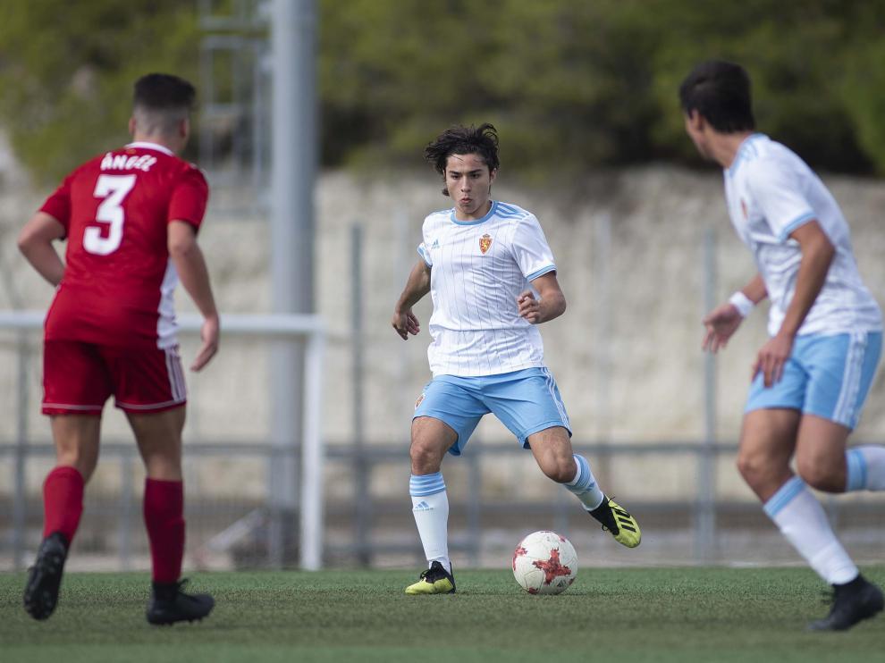 Fútbol. LNJ- Real Zaragoza vs. Amistad.