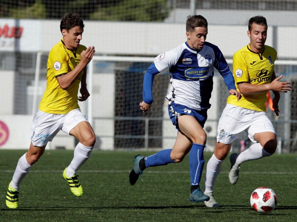 Fútbol. Segunda B- Ebro vs. Baleares.