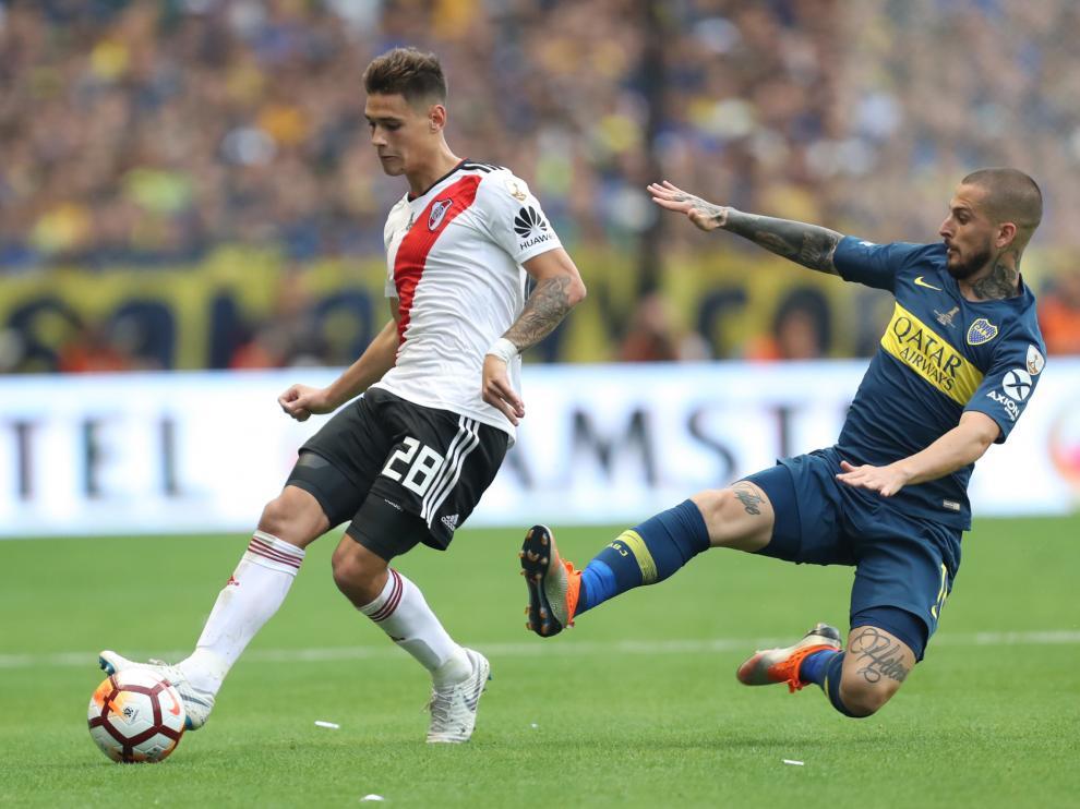 Un encuentro entre River Plate y Boca Juniors.