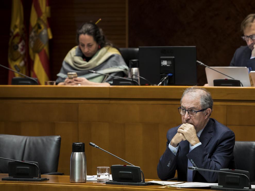 Fernando Gimeno, durante una comparecencia en las Cortes.