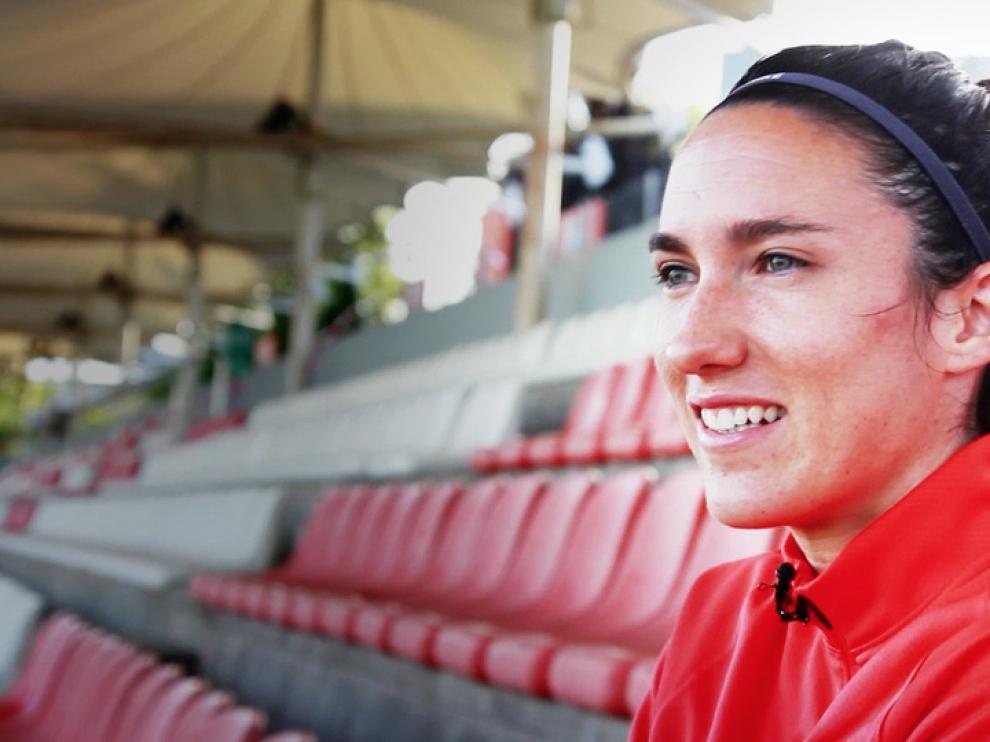 Silvia Meseguer, posando en una imagen de archivo.