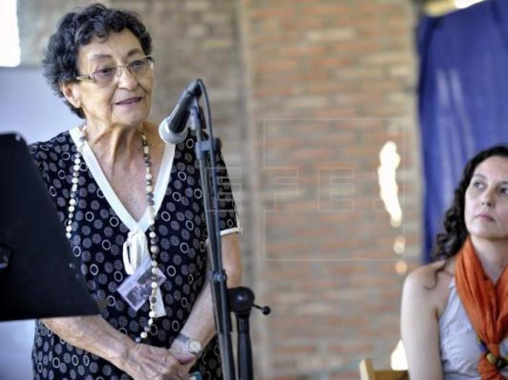 La poeta alicantina Francisca Aguirre, en una imagen de archivo.