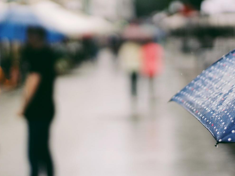 El nuevo paraguas mejora las funciones del tradicional.