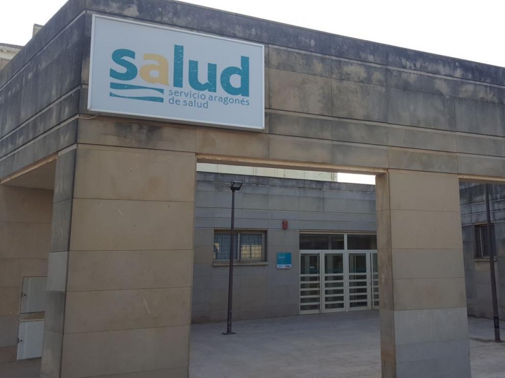 Exterior del centro de salud de Sádaba.