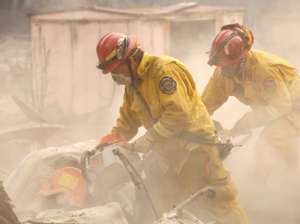 El incendio del norte de California ya es el más destructivo de su historia