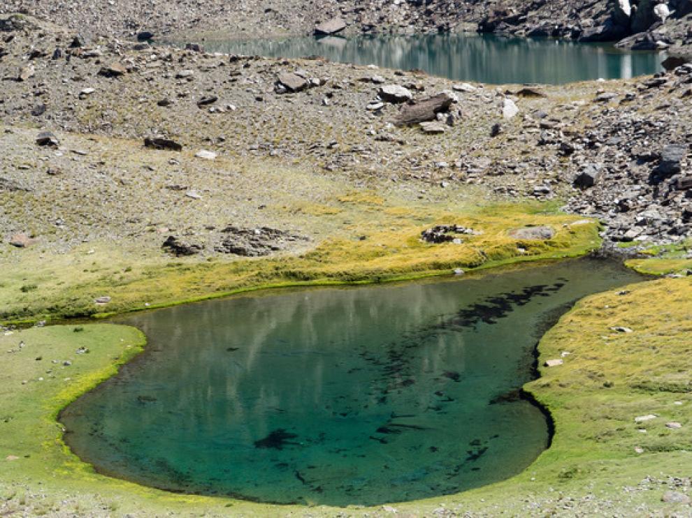 Laguna de la Gabata y laguna Larga