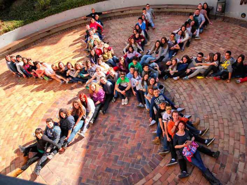 Jóvenes de entre 14 y 18 años de 17 comarcas forman el proyecto de dinamización rural.