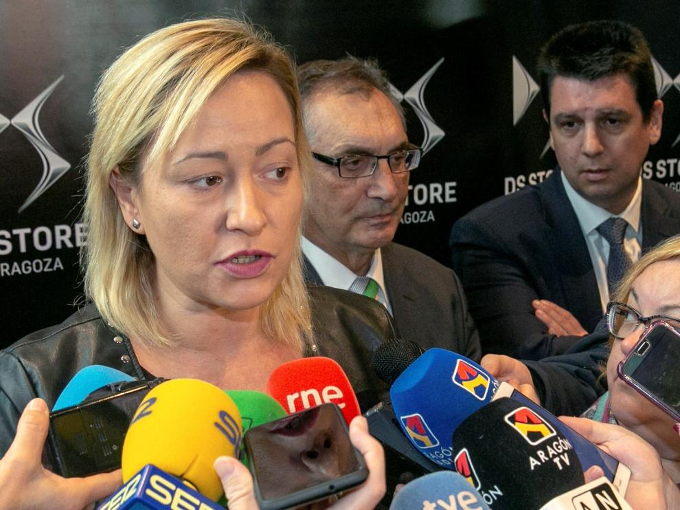 La consejera de Economía, Industria y Empleo del Gobierno de Aragón, Marta Gastón, será quién acuda a la reunión.