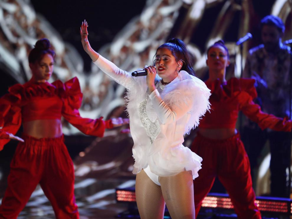 Rosalía en los Grammy Latino