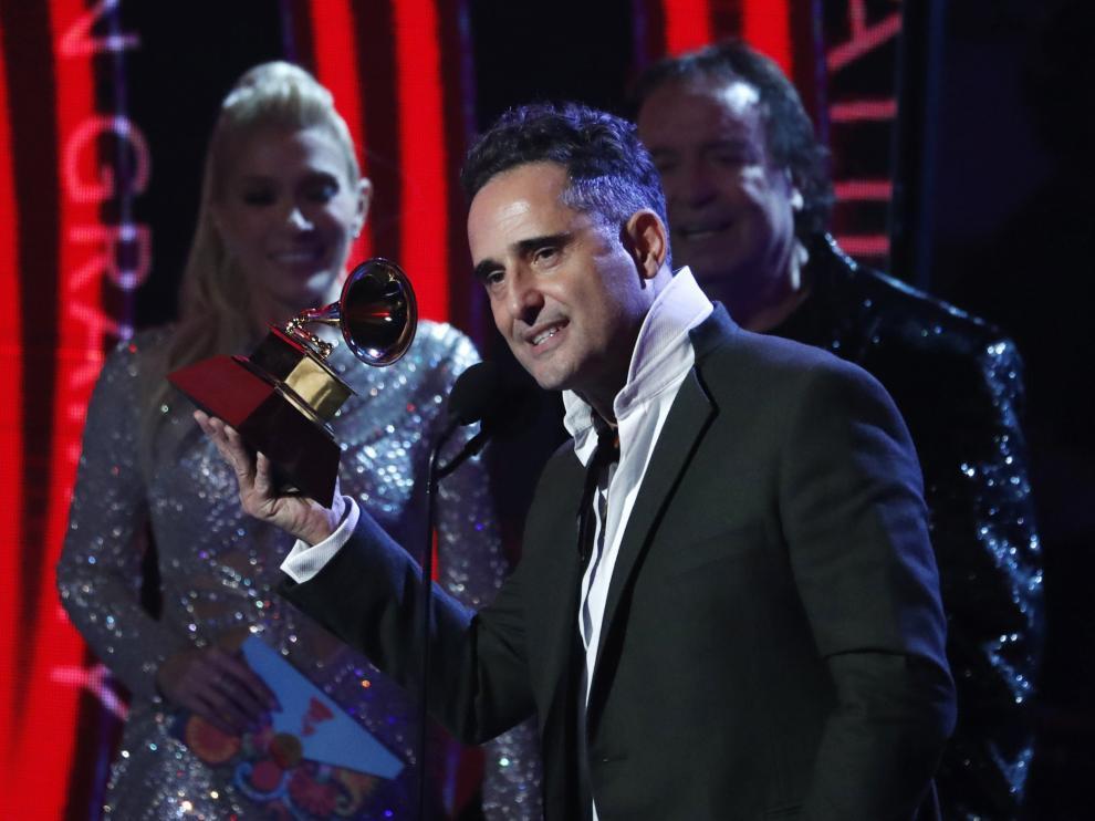 Jorge Drexler en los Grammy Latino