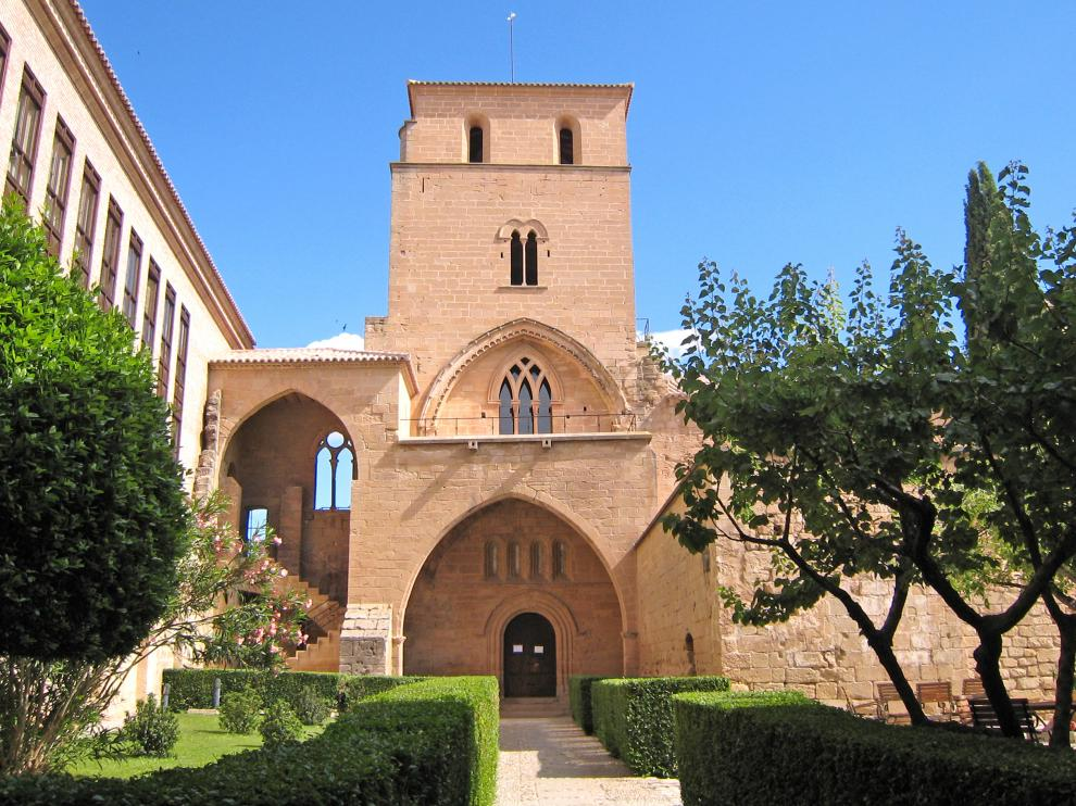 Torre del homenaje del castillo de Alcañiz, que fue la sede de la Encomienda Mayor de la Orden de Calatrava en Aragón.