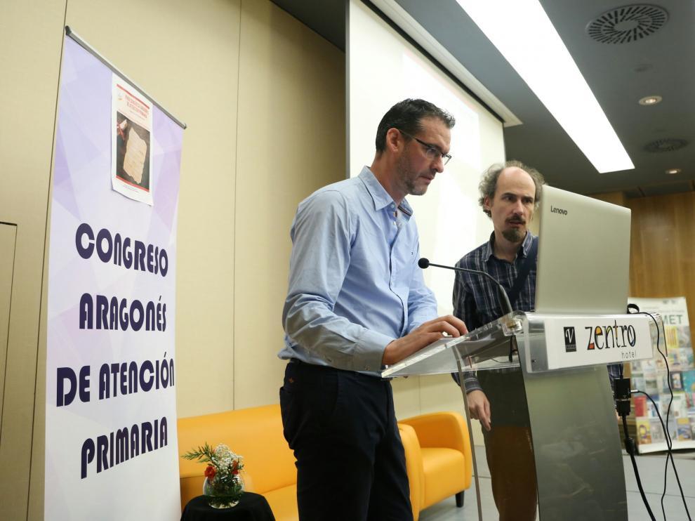 Una imagen de la jornada de este sábado en el Congreso de Atención Primaria, que se ha celebrado este fin de semana en Aragón.