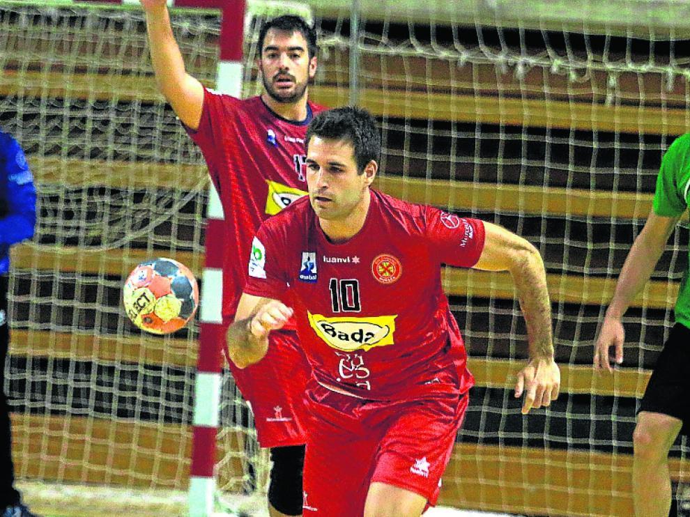 Adrià Pérez, jugador del Bada Huesca