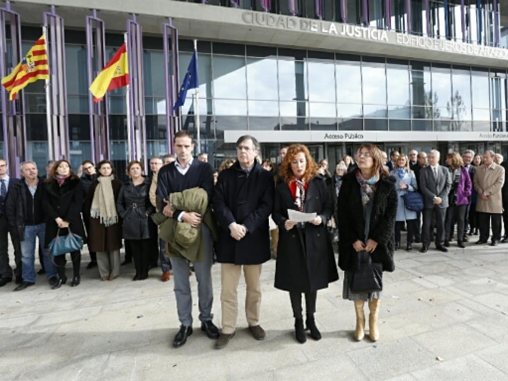 Huelga de jueces y fiscales en toda España