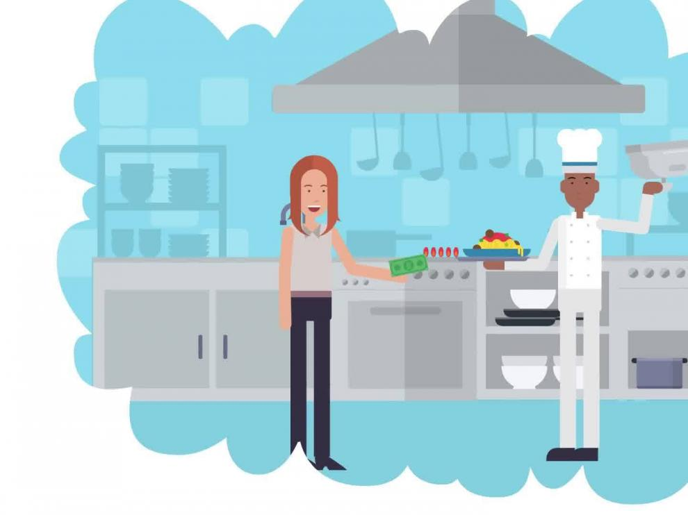 Una iniciativa aragonesa para frenar el desperdicio de alimentos