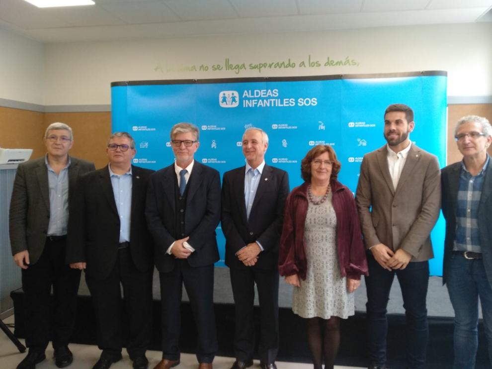 Inauguración del nuevo centro de día de Aldeas Infantiles SOS en Zaragoza