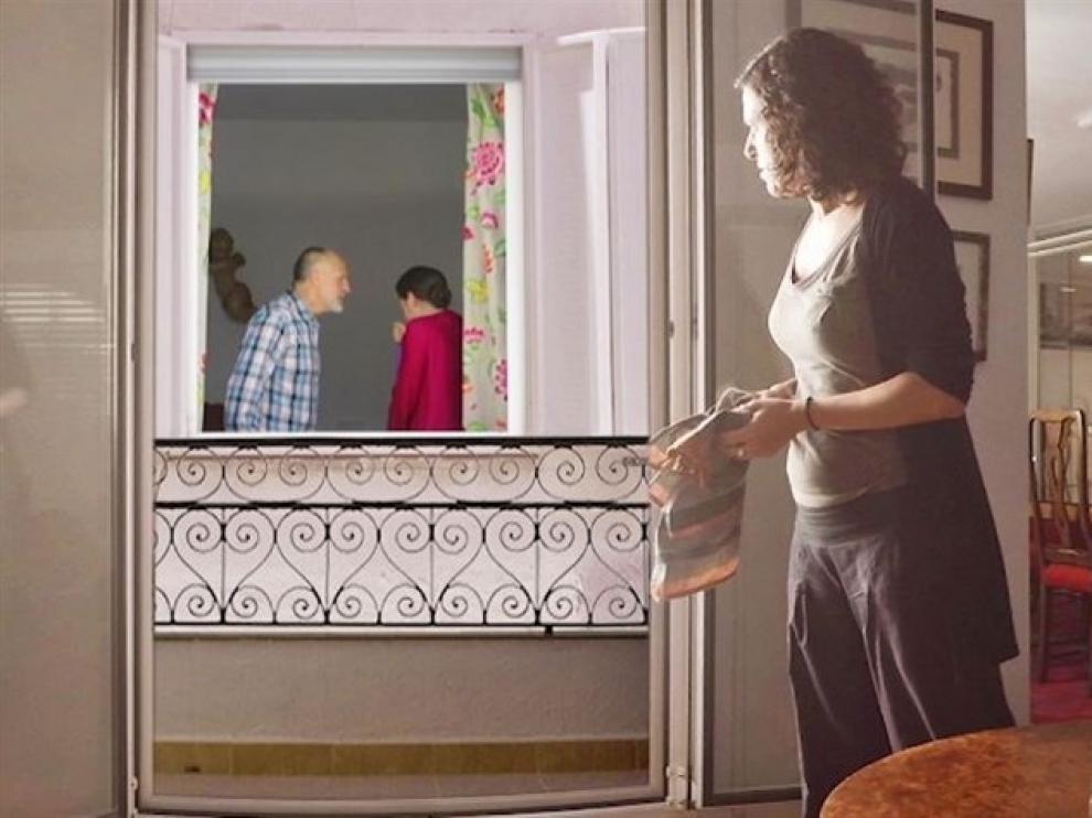 Fotograma de la campaña contra la violencia de género 'No mires a otro lado'