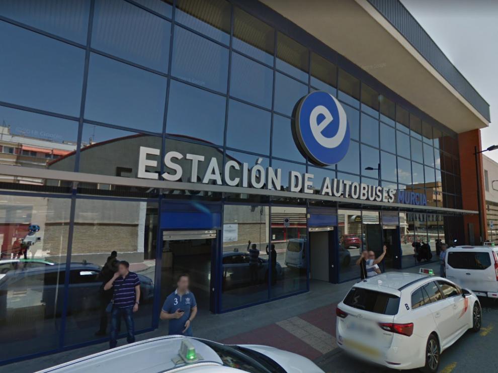 El suceso ha tenido lugar en la estación de autobuses de Murcia.