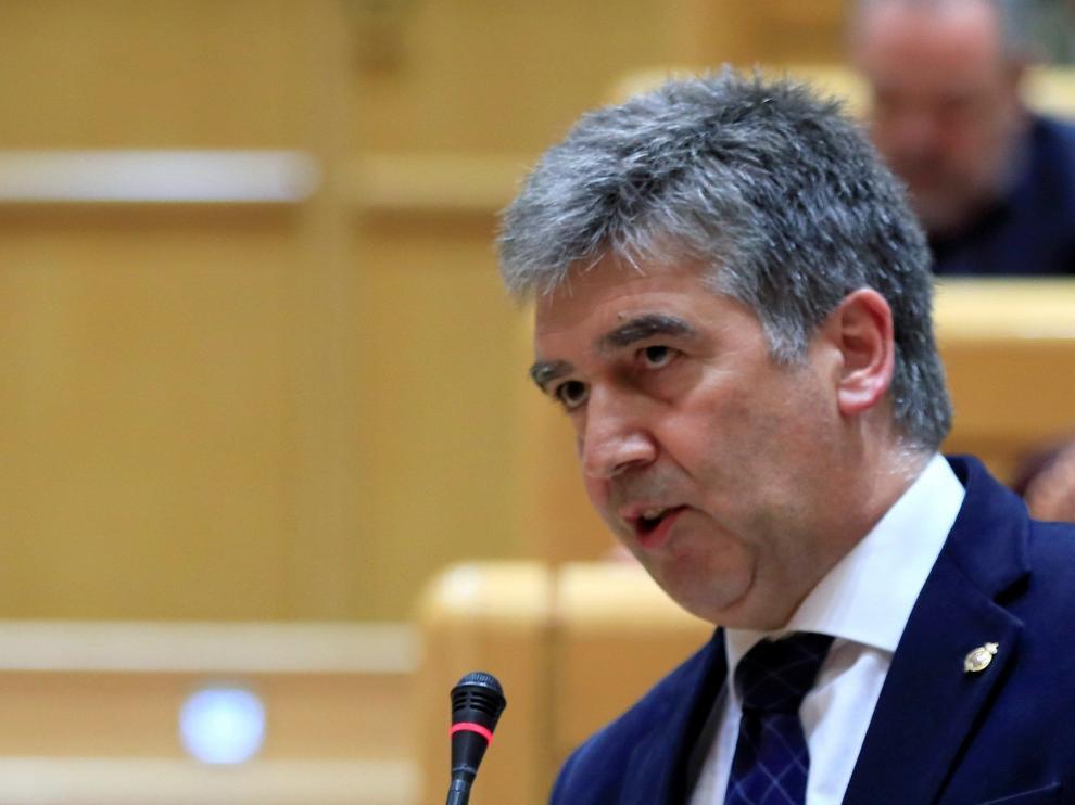 El senador del PP, Ignacio Cosidó, en el Senado.